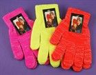 Bright glitter thread gloves (Code 2177)