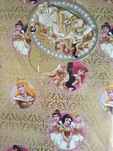 Disney princess gift wrap set (Code 1400)
